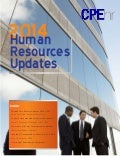 2014 Human Resources Updates