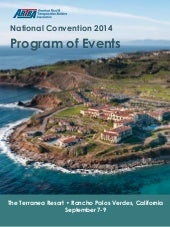 2014 National Convention program-of-events