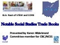 Notable Social Studies Trade Books 2014