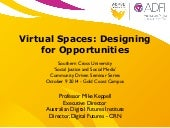 Virtual Spaces: Designing for Opportunities
