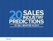 2014 Sales Industry Predictions to Sell Smarter in 2014