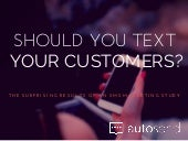 Is It OK to Text Your Customers?