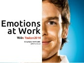Emotions at Work: TEDx Toulon