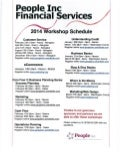 2014 People Inc Training Schedule