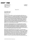 Letter from Norfolk Southern Railroad Responding to Letter from PA Gov Wolf on Bakken Oil Train Safety