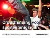 Crowdfunding in de Sport
