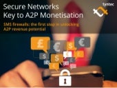 Secure Networks Key to A2P Monetisation