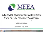 A Midwest Review of the ACEEE 2015 State Energy Efficiency Scorecard