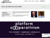 Platform Cooperativism: Special Lunch Session with Michel Bauwens - Response: Thomas Dönnebrink European Experiments With Worker Ownership And Self-Governance