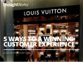 ThoughtWorks Live China - 5 Ways to a Winning Customer Experience