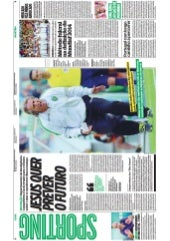 2015_08_03 O JOGO - Jorge Jesus to set-up CI in Sporting Lisbon Football Club Expert opinion by Luis Madureira