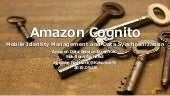 AWS Black Belt Tech シリーズ 2015 - Amazon Cognito
