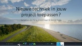 Presentation about innovation in the national high water protection programm in the Netherlands