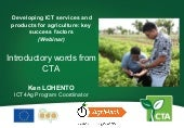 AgriHack webinar introduction