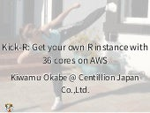 Kick-R: Get your own R instance with 36 cores on AWS