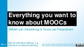 Everything you want to know about MOOCs #NHE2015