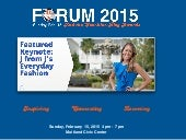 FORUM 2015 Official Guide