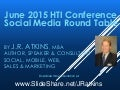 2015 HTI Social Media Round Table