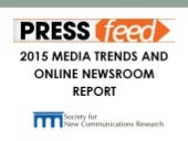 2015 Media Trends Affecting Company Newsrooms