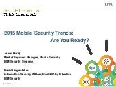 2015 Mobile Security Trends: Are You Ready?