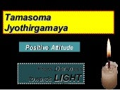 2015 Nov 16   Positive Attitude for Better Living - SAMETI - [Please download and view to appreciate better the animation aspects]