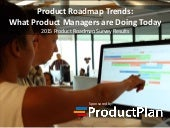 Product Roadmap Trends: What Product Managers are Doing Today