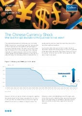 2015 Sep Colliers Asia Market Insights: The Chinese Currency Shock