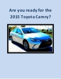 2015 Toyota Camry in Orlando