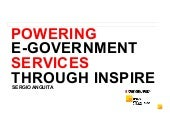 Powering eGovenment services through INSPIRE