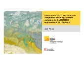 Adaptation of data providers metadata to the INSPIRE requirements in Catalonia