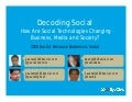 2020 Social Decoding Social Workshop