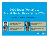 2020 Social Workshop on Social Medi...