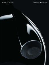 Catalogue Bowers & Wilkins (B&W) 2010