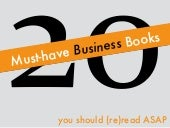 20 Must-Have Business Books