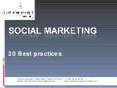 20 Best Practices Social Marketing...