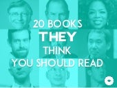 20 Books Today's Change-Makers Think You Should Read
