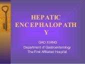 20 hepatic enchephalopathy