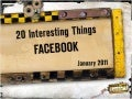 20 Interesting Things: Facebook
