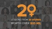 20 Lessons From 20 Women Worth Over $20 Million