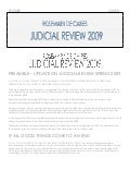 JUDICIAL REVIEW REPORT 2009 [Feature]