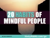 20 Habits Of Mindful People