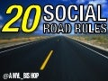 20 Social Marketing Road Rules