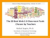 The 20 Best Web 2.0 Classroom Tools...