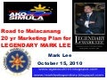 20 year marketing plan mark lee