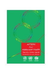 """Action for adolescent health: Towa..."