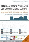 International Nuclear Decommissioning Summit 2014