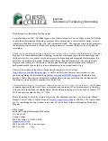 Cuesta College LIBT 214: Letter of Introduction