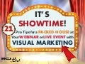 21 Pro Visual Marketing Tips for a Packed House at Your Webinar or Live Event