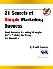 doitmarketing 21 secrets of simple ...