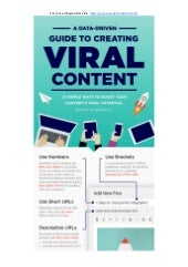 Infographic: 21 Simple Ways to Create the Best Viral Content